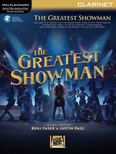 THE GREATEST SHOWMAN CLARINET SHEET MUSIC BOOK WITH INSTRUMENTAL PLAY ALONG *NEW