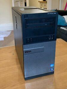 Dell OptiPlex 390 Desktop PC - Intel i3 2120 / 8GB Ram / 240GB SSD / W10