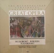 Metropolitan Centennial Collection of Great Opera Mussorgsky Tschaikovsky LP BOX