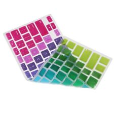 Laptop 13''15''17'' Rainbow Colorful For Macbook Air Keyboard Cover Silicone