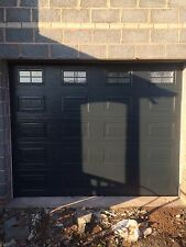 GEORGIAN SECTIONAL GARAGE DOOR FREE COLOUR CHOICE INSULATED NOT ROLLER TIMBER