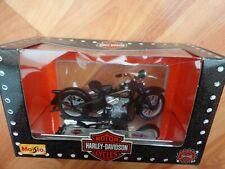 1/18 MAISTO CLASSIC 1936 EL KNUCKLEHEAD BLACK HARLEY DAVIDSON MOTORCYCLE BIKE