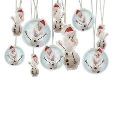New! Disney Frozen Olaf Holiday Light String (11.15ft long)