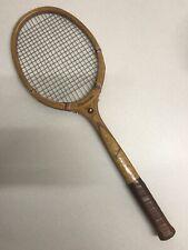 Vintage Wooden Spalding-Lamina Tennis Racket W/ Frame