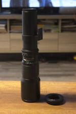 500mm Telephoto Opteka Lens for Canon EOS 7D 70D 60D 750D 650D 600D 1200D 1300D