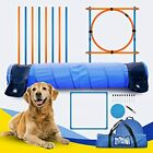 Dog Agility Equipment Training Set for Dogs Obstacle Course Backyard with 10 ...