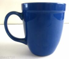 EUC GIBSON SOLID BLUE STONEWARE MUG 10 OZ.