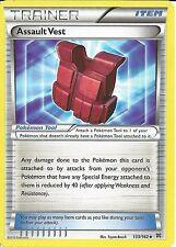 4X POKEMON CARD XY BREAK THROUGH - ASSAULT VEST 133/162 TRAINER