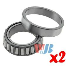 2x Front Wheel Bearing and Race Tapered Roller Bearing WJB WT32009X Cross 32009X