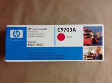 New Genuine HP Color LaserJet Printer Toner Cartridge 1500 2500 C9703A