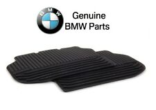 For BMW F10 5 Series 2011-2016 Rear All Weather Black Rubber Floor Mats Genuine