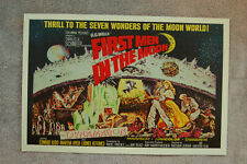 First Men in the Moon  Lobby Card Movie Poster Edward Judd__