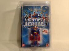 Liga de la Justicia Ilimitado Superman Figura Metal Colección Mattel 2004 t1341