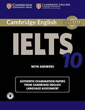 Cambridge IELTS 10 Student's Book with Answers with Audio (NEW BOOK) PAPERBACK