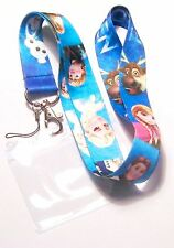 * Disney Lanyard 'Frozen' Blue With Passholder * Cell Phone * ID Key  * UK