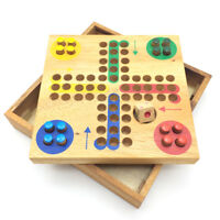 Pin Ludo Wooden Board Game (5.43 Inches)