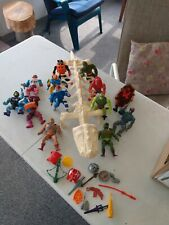 He-man Masters of the Universe lot.  Nice Vintage Original matel
