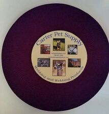 Carter Pet Supply 1 Inch Purple Heavy Nylon Webbing 10 Yards USA MADE