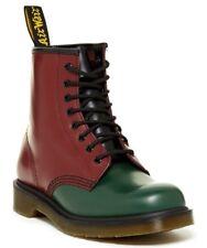 NIB Dr. Martens Women's 1460 Black Red Cherry Green Yellow Combat Boot UK 4 US 6