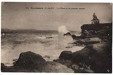 CPA 22 - PLOUMANAC'H (Côtes d'Armor) - 131. Le Phare et les grandes marées
