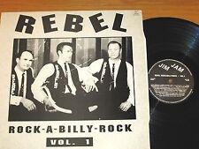 LOT of 2 HOLLAND IMPORT ROCK & ROLL LPs - VARIOUS ARTISTS - JIM JAM 8991 & 8993