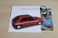 106937) Peugeot 306 XR XRD XRDT Prospekt 12/1993