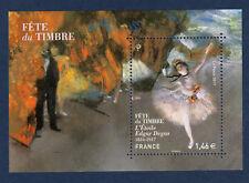 FRANCE 2017 Nouveauté Fete du timbre Degas Art Painting Bloc MNH **