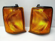 LAND ROVER DISCOVERY 2  FRONT INDICATOR LAMPS LH & RH UPTO 03 - PAIR NEW LAMPS
