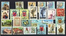 Mozambique-25 All Different Used Thematic Large Stamps