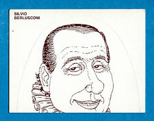 [GCG] I VIP DI FORATTINI Figurina-Sticker n. 39 - SILVIO BERLUSCONI 1/2 -New