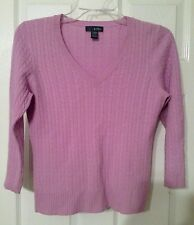 Griffen 100% Cashmere Sweater Size Small Pale Purple Womens