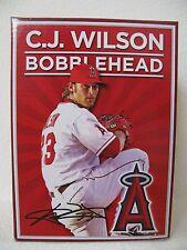 NEW Los Angeles Anaheim Angels C.J. Wilson Bobblehead SGA 6/20/2013