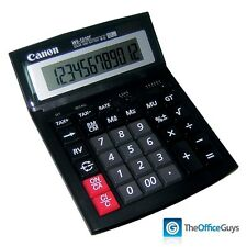 Canon WS-1210T Dual Powered Desktop Calculator, 12 Digit LCD (WS1210T)