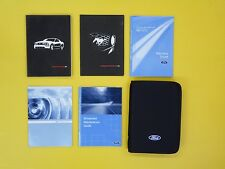 Mustang 06 2006 Ford Owner's Owners Manual Set Covers 4.0L V6 & 4.6L V8 Engines