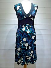 New Look Dress~Size 12 ~ Black, Blue, Green ~ Cap Sleeve ~ Casual Party ~ 1722