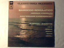 HERMANN KREBBERS Barocco romantico lp ALBINONI PERGOLESI VIVALDI BONPORTI
