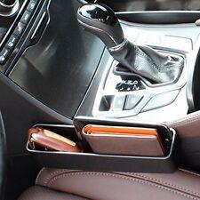 Console Side Pocket Car Organizer Catcher Fills The Gap Smartphone Wallet 2 Pcs