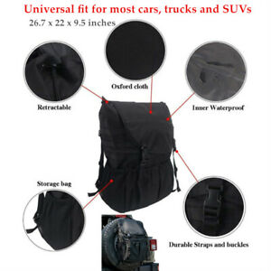 Off-road Car Tyre Hanging Bag Protector Tire Storage Carry  Cover For Jeep SUV