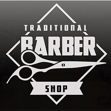 Barber Shop Vinyl Shop Sign For Barbers Hair Salon Window Sticker 2 SIZES