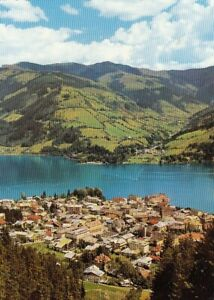 Zell am See, Blick gegen Thumersbach und Hundsstein ngl G4424