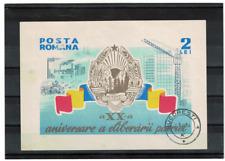 Romania 1964 Block used