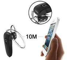 Universal Bluetooth 4.0 Wireless Hands-Free Stereo Headset Earphone Mic Black #M