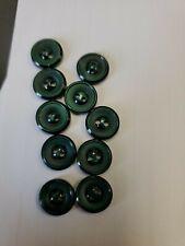 "Olive Green SILK VELVET Fabric Buttons Hand Made Buttons set of 6-1//2/"""