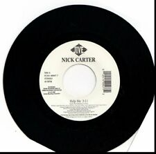 NICK CARTER HELP ME 45RPM VINYL