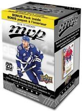 2018-19 Upper Deck MVP NHL Hockey Trading Cards 20+1 Bonus Pack Blaster Box FS