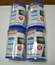 COLEMAN SPA VI EIGHT FILTER CARTRIDGES FOR SALU SPA HOT TUB VHTF !!