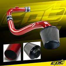 06-09 VW Golf GTI Turbo 2.0T 2.0L Red Cold Air Intake + Stainless Steel Filter