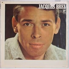 JACQUES BREL: Self Titled '65 French Folk REPRISE USA Mono SHRINK LP NM