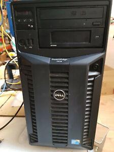 Dell PowerEdge T410 Server XEON E5520 2.27 GHZ 16GB RAM 5 x 146GB SAS HDD