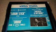James Brown America Is My Home Rare Original Promo Poster Ad Framed!